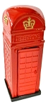 Telephone Booth Die Cast Metal Collectible Pencil Sharpener